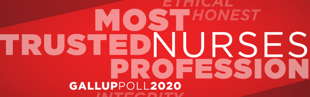 Nurse most trusted graphic