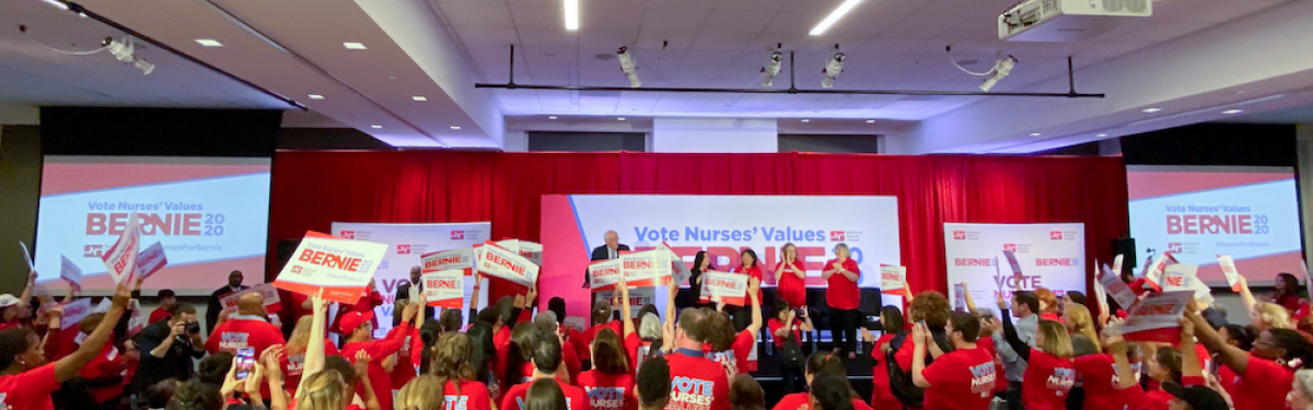 National Nurses United Endorse Bernie Sanders