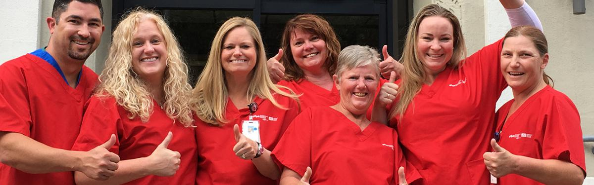Nurses at St. Mary's Regional Medical Center