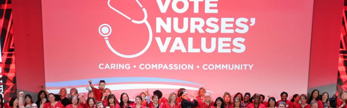 Vote Nurse Values