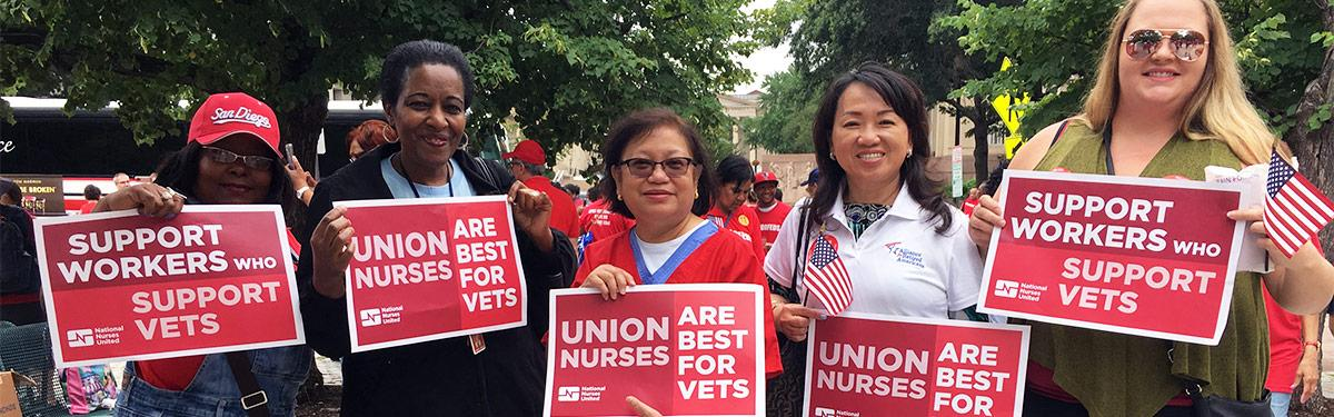 RNs support #RedforFeds