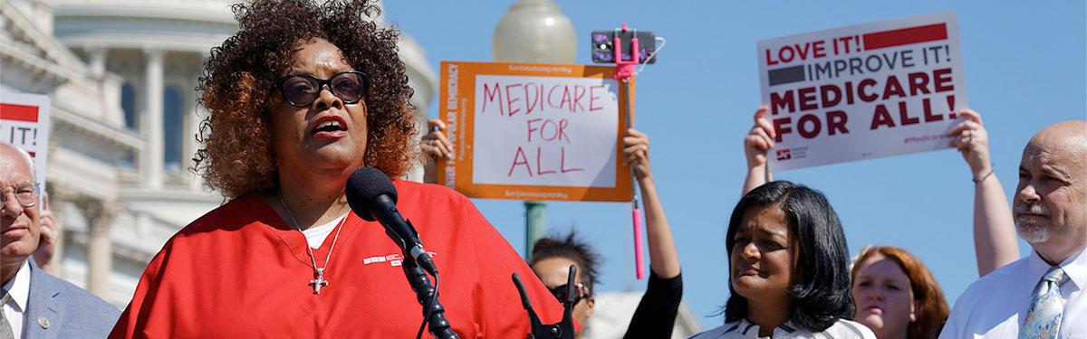 First Medicare For All Congressional Caucus