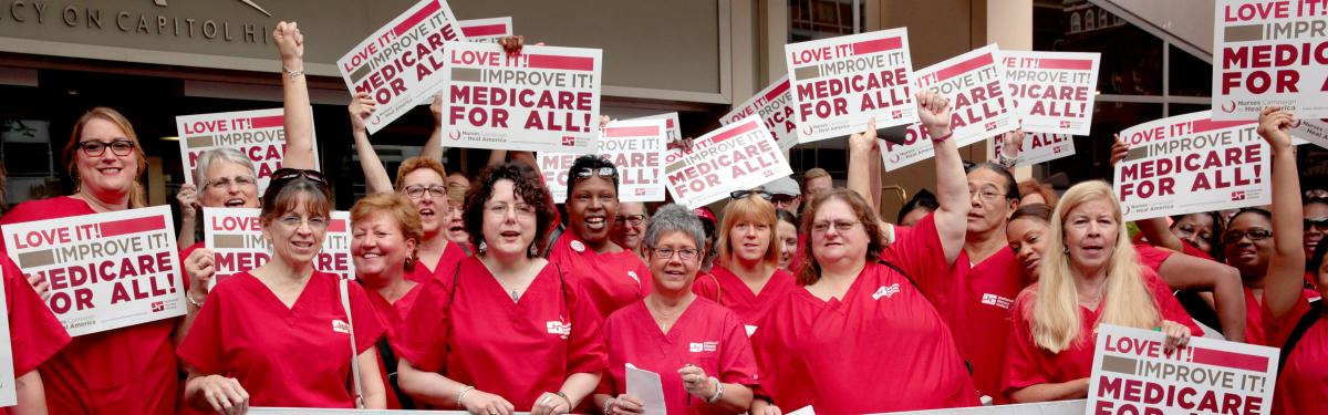 Nurses Rallying for Medicare for All