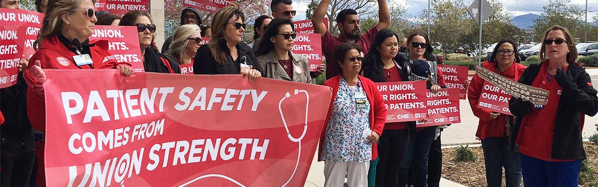 Patient Safety Comes From Union Strength