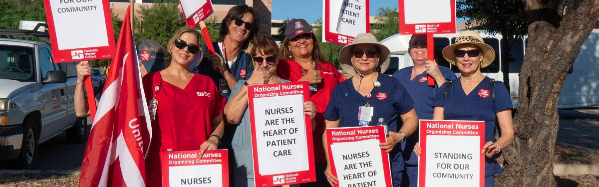 Striking Nurses