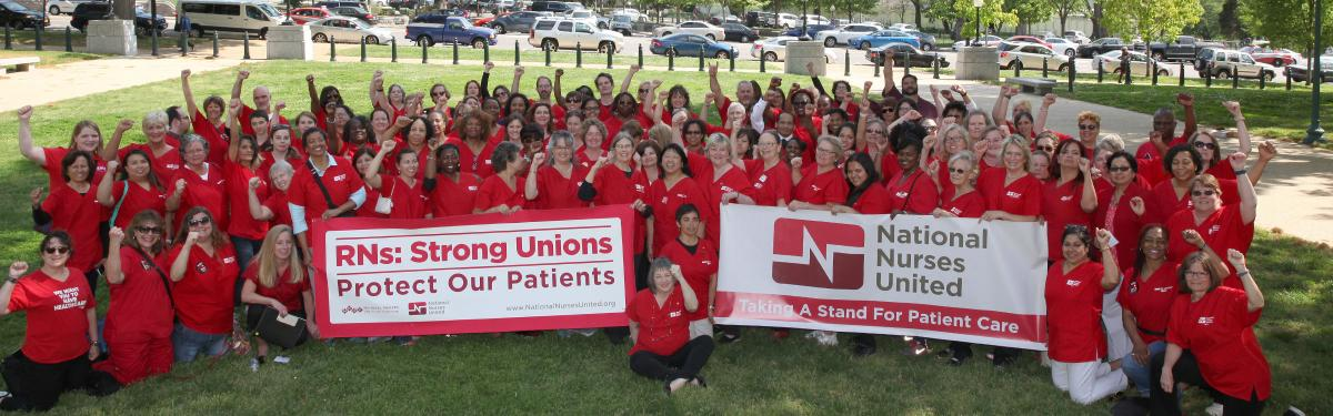 Nurses at Lobby Day 2018