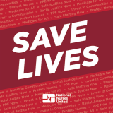 "Graphic ""Save Lives"""