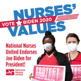Vote Nurses Values graphic