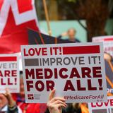 Medicare for all signs