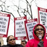 Informational Picket at Saint Louis University Hospital