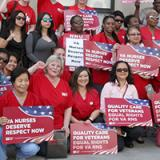 RNs and Veterans Rally to Protect Veterans' Health Care
