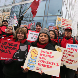 Nurses at Women's March 2019