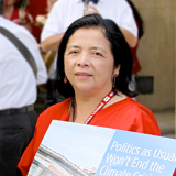 Bonnie Castillo, RN and Executive Director of CNA/NNU