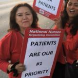 Nurses standing up for patients