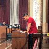 Brian Ferrer, RN speaks before LA city health commission