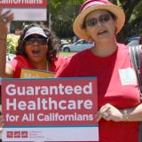 RNs advocating for guaranteed healthcare for all