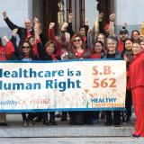Nurses for SB562 - Jan 7 Select Committee Hearing