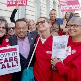 Keith Ellison at Our First Stand: Medicare For All event