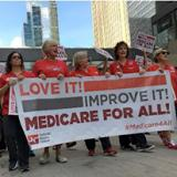 Thousands march for Medicare For All