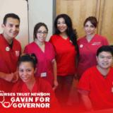 Nurses Trust Newsom