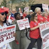 RNs march for Medicare For All