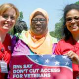 Nurses standing up for veteran health care access