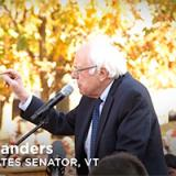 Bernie Sander speaks at DC Rally