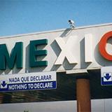 Mexico border entrance